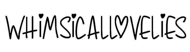 Whimsical Lovelies Font