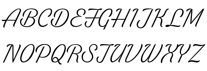 White Larch PERSONAL USE ONLY Font UPPERCASE
