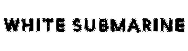 White Submarine  免费字体下载