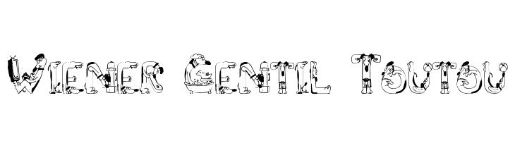 Wiener Gentil Toutou  नि: शुल्क फ़ॉन्ट्स डाउनलोड