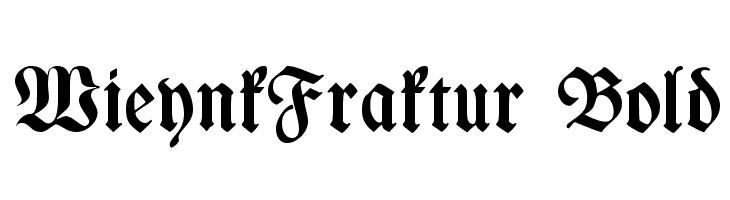 WieynkFraktur Bold  Descarca Fonturi Gratis