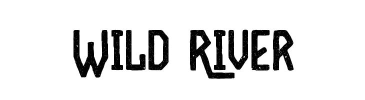 Wild River  Frei Schriftart Herunterladen