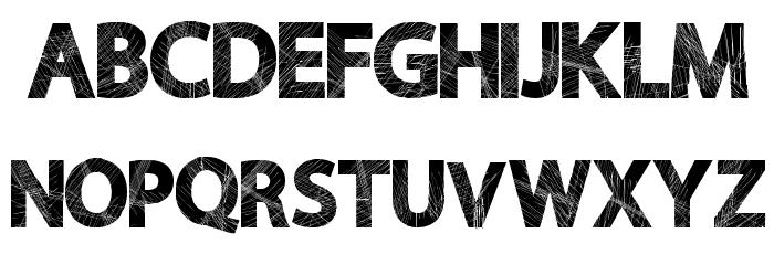 WildScratch Font UPPERCASE