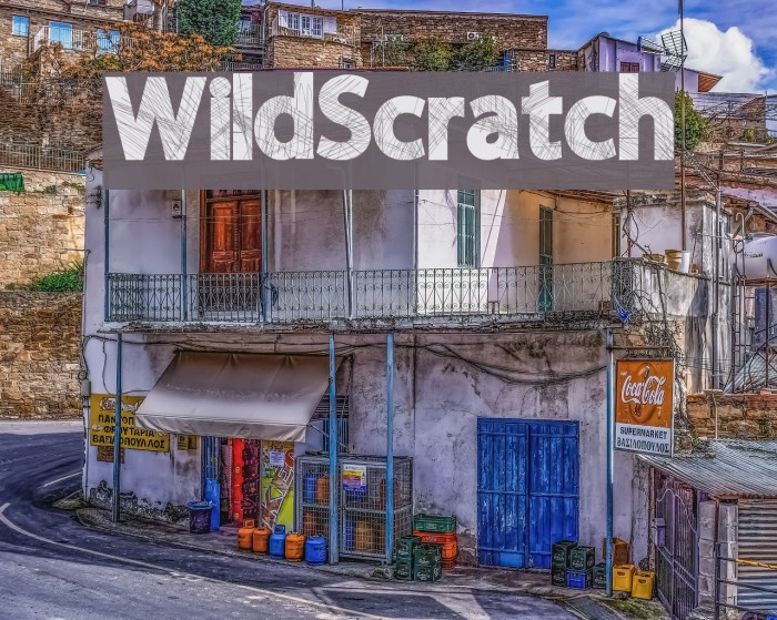 WildScratch Fonte examples