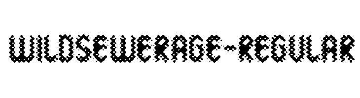 WildSewerage-Regular  नि: शुल्क फ़ॉन्ट्स डाउनलोड