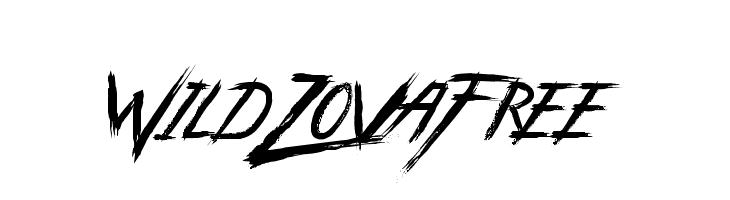 WildZovaFree  Скачать бесплатные шрифты
