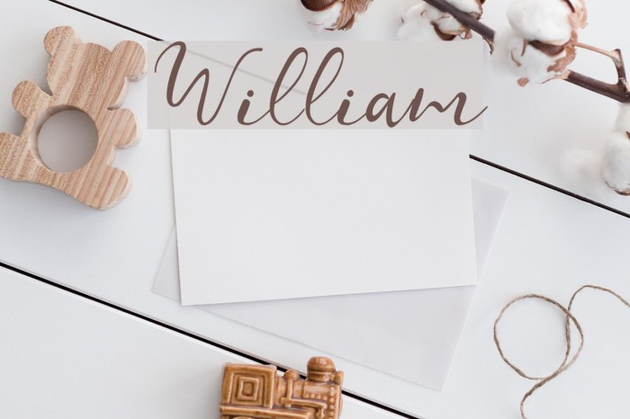 William Font examples