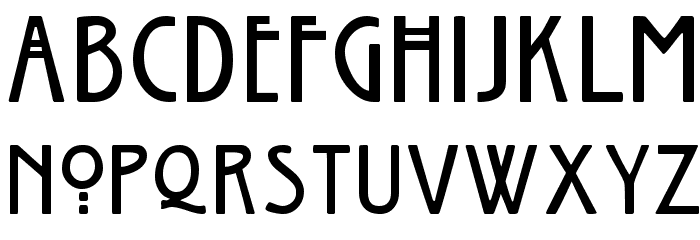 Willow Font LOWERCASE