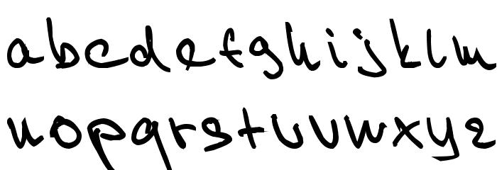 Willy 2 Шрифта строчной