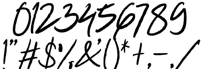 Winkdeep One 字体 其它煤焦