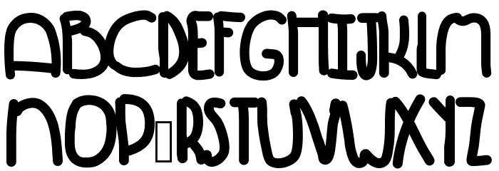 Winning Font UPPERCASE