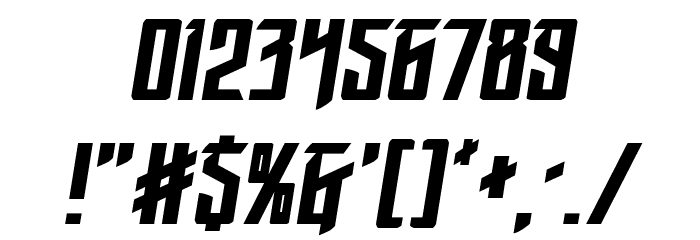 Winter Solstice Italic Шрифта ДРУГИЕ символов