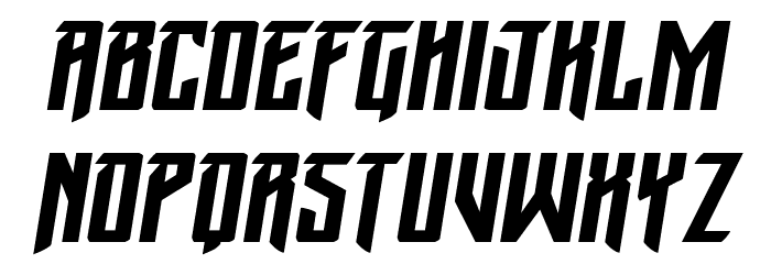 Winter Solstice Italic Шрифта строчной