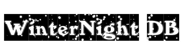 WinterNight DB  Fuentes Gratis Descargar