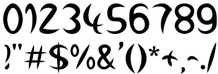 Wirbelkind Font OTHER CHARS