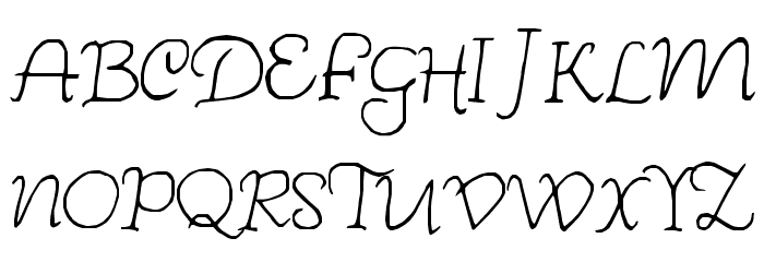 Wishes Font UPPERCASE