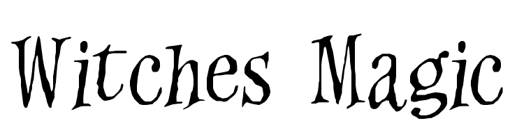 Witches Magic  Free Fonts Download