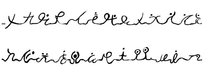 Wizard Runes-1 Font UPPERCASE