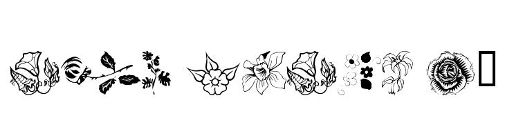 wmflowers1  Fuentes Gratis Descargar
