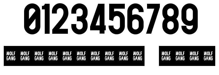 WOLF GANG BOLD Fonte OUTROS PERSONAGENS