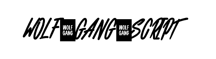 WOLF GANG SCRIPT  Free Fonts Download