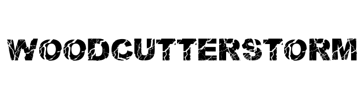 WOODCUTTER STORM  Free Fonts Download