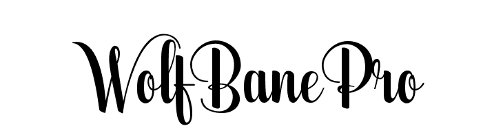 WolfBanePro  Скачать бесплатные шрифты