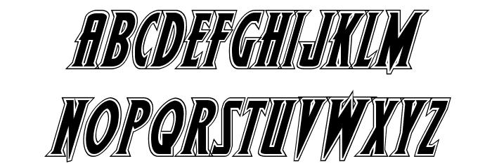 Wolf's Bane II Academy Italic Шрифта строчной