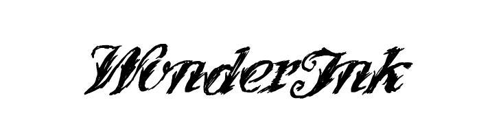 WonderInk  Скачать бесплатные шрифты