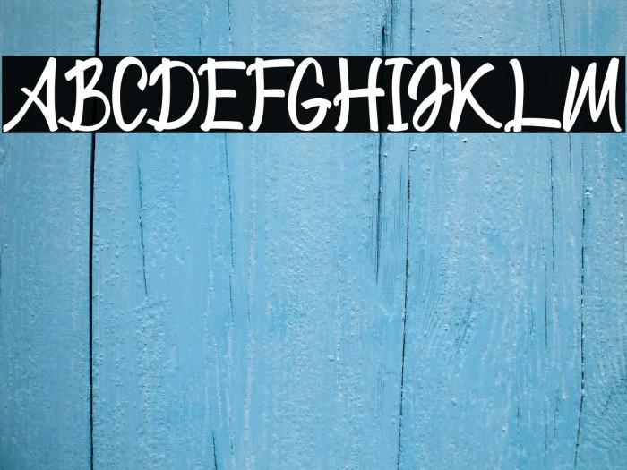 WonolandPark Font examples