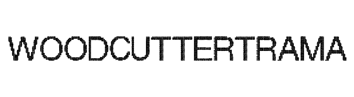 Woodcutter Trama  Free Fonts Download