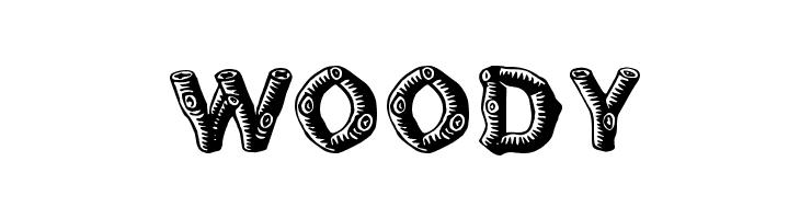 Woody Font
