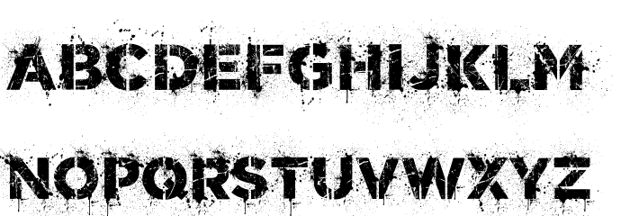 World Conflict Regular Font LOWERCASE