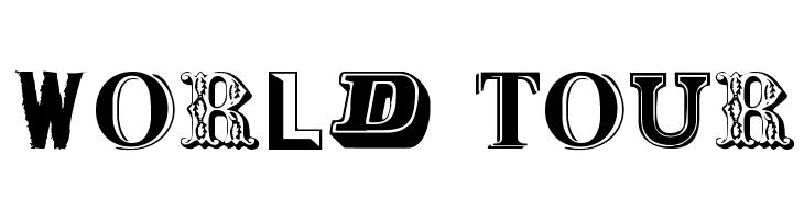 World Tour  les polices de caractères gratuit télécharger