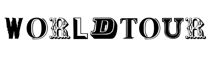 WorldTour  les polices de caractères gratuit télécharger