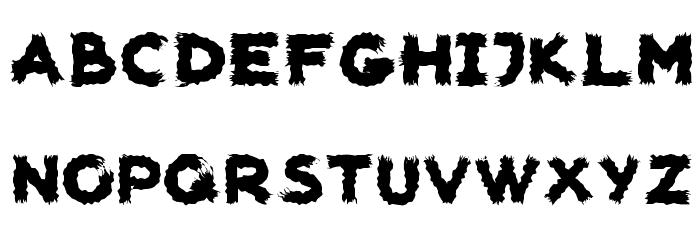 woodcutter carnage Шрифта строчной