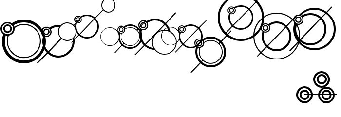 WS Simple Gallifreyan Font OTHER CHARS