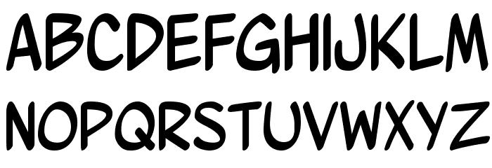 Wurmics Bravura Font UPPERCASE