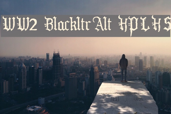 WW2 BlackltrAlt HPLHS Fonte examples