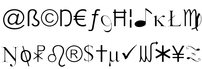 X-Cryption Light Font LOWERCASE