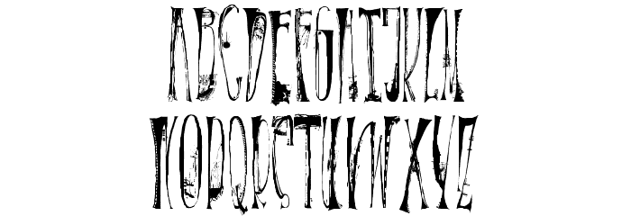X-�ntrica Font UPPERCASE