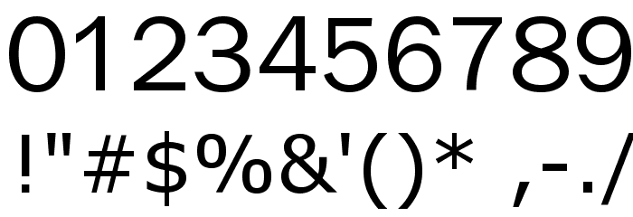 X360 by Redge Font OTHER CHARS