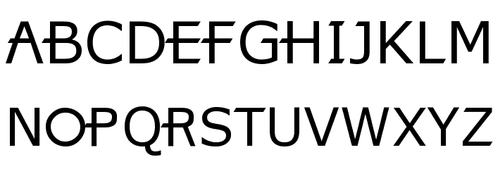 X360 by Redge Font UPPERCASE