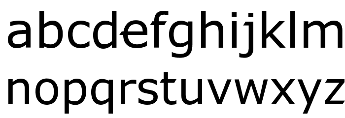 X360 by Redge Font LOWERCASE