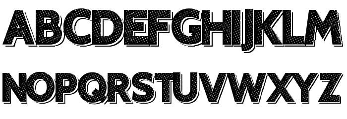 XeroTypique फ़ॉन्ट अपरकेस