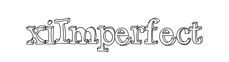 xiImperfect  नि: शुल्क फ़ॉन्ट्स डाउनलोड