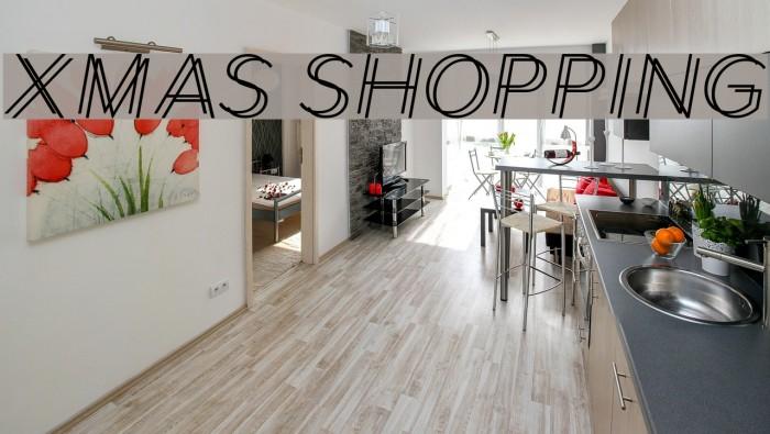 Xmas Shopping Font examples
