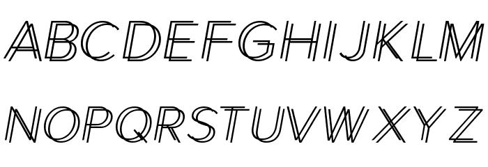 Xmas Shopping Font LOWERCASE