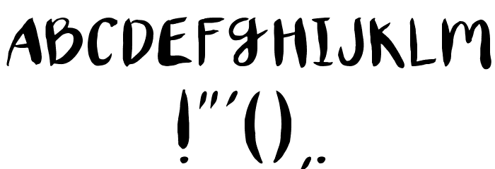 XORegular 字体 其它煤焦