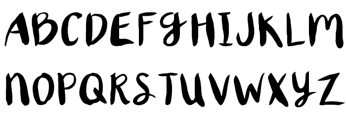 XORegular 字体 大写
